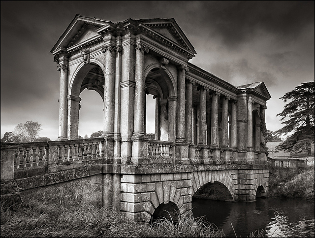 Palladian Bridge, Stowe Gardens, Buckinghamshire - September 2012